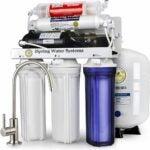 最好的下沉水过滤器选项:ISPring RCC7P-AK 6级反渗透系统