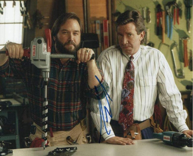 tim allen and richard karn from Home Improvement