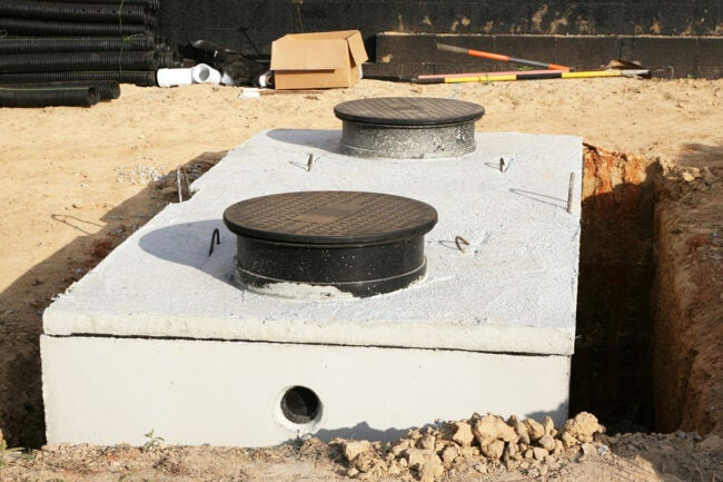 Types of Septic Tank Systems