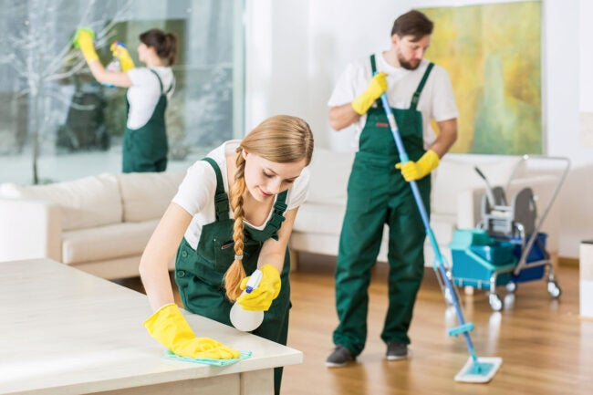 What Is the Going Rate for House Cleaning