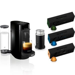 The Best Automatic Espresso Machine Options: Nespresso VertuoPlus Coffee