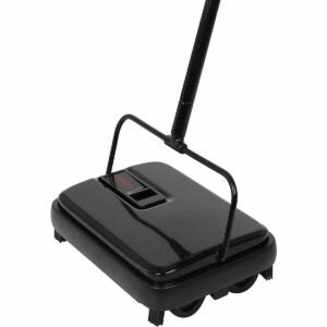 The Best Carpet Sweeper Options: Karcher KB5 Cordless Sweeper, Yellow
