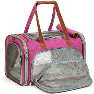 The Best Cat Carrier Options: Mr. Peanut's Expandable Airline Approved Soft Sided Pet Carrier