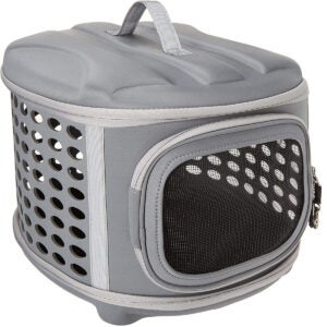 The Best Cat Carrier Options: Pet Magasin Hard Cover Collapsible Cat Carrier