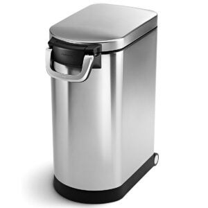 The Dog Food Storage Options: simplehuman 30 Liter