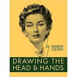 最佳绘画书籍选择:绘制头部和手,精装本