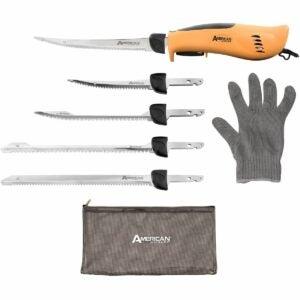 最好的电动刀刀选项:美国垂钓者专业电圆角刀