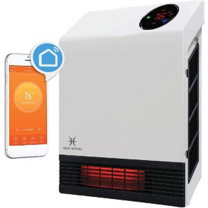 The Best Electric Wall Heater Options: Heat Storm HS-1000-WX-WIFI WiFi Infrared Wall Heater