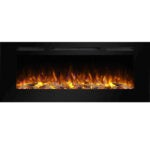 The Best Electric Wall Heater Options: PuraFlame Alice 50 Inches Recessed Electric Fireplace