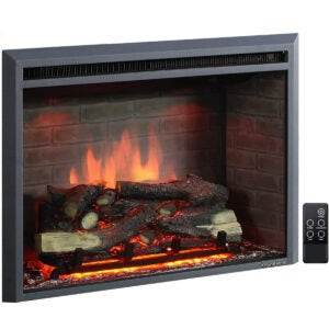 The Best Electric Wall Heater Options: PuraFlame Western Electric Fireplace