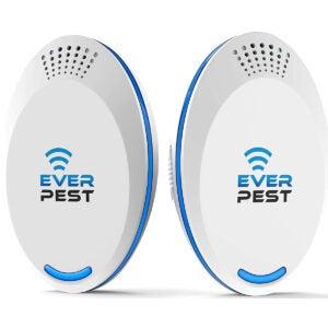 The Best Flea Trap Options: Ultrasonic Pest Repellent Control 2021 (2-Pack)