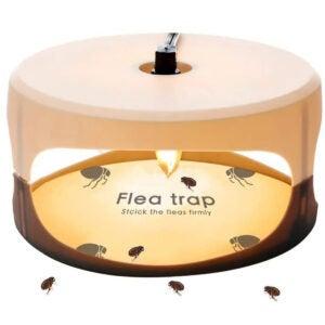 The Best Flea Trap Options: ZZC Flea Trap with 2 Glue Discs Simple Installation