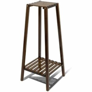 The Best Indoor Plant Stands Option: Magshion Bamboo Tall Plant Stand Pot Holder