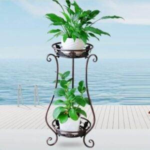 The Best Indoor Plant Stands Option: WELLAND Tree Stump Stool Live Edge