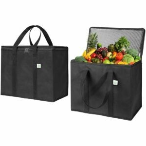 The Best Insulated Grocery Bag Option: VENO BAG 2 Pack Insulated Reusable Grocery Bag
