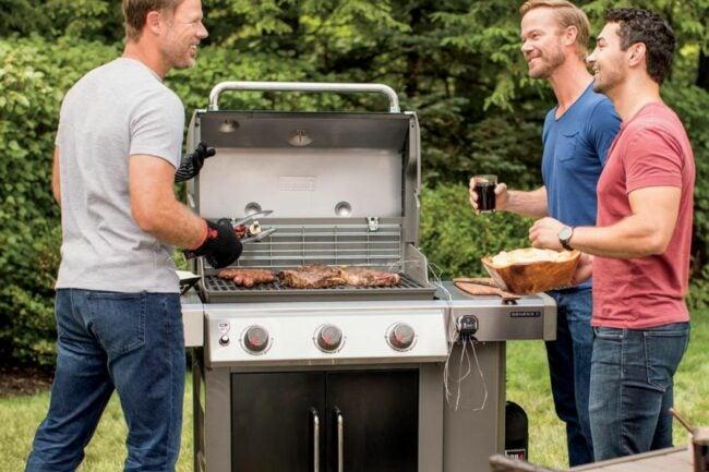 最好的天然气烤架选择