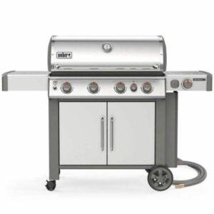 最好的天然气烤架选择:韦伯创世纪II S-435 4燃烧器天然气烤架