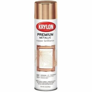 The Best Copper Spray Paint Options: Krylon K01020A07 Premium Copper Metallic Spray Paint