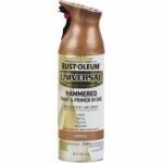 The Best Copper Spray Paint Options: RUST-OLEUM 247567 Universal Hammered Spray Paint