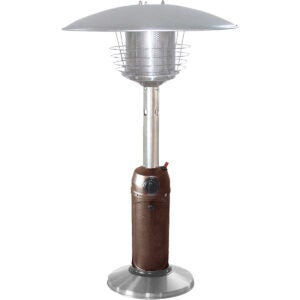 The Best Outdoor Heater Options: Hiland HLDS032-BB Portable Table Top Patio Heater