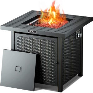 The Best Outdoor Heater Options: TACKLIFE Propane Fire Pit