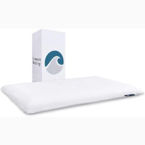 The Best Pillows For Stomach Sleepers Options: Bluewave Bedding Ultra Slim Gel Memory Foam Pillow