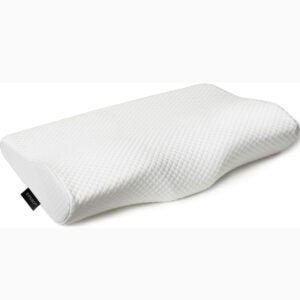 The Best Pillows For Stomach Sleepers Options: EPABO Contour Memory Foam Pillow Orthopedic Sleeping Pillows