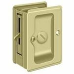 The Best Pocket Door Lock Option: Dynasty Hardware Round Bed/Bath Privacy Pocket