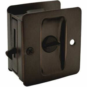 最佳口袋门锁选项:Deltana SDLA325U3-UNL HD口袋锁