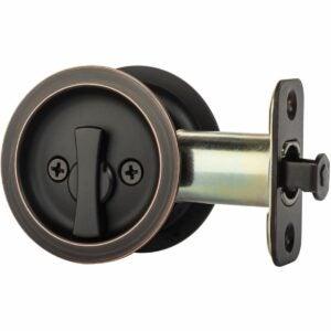 最好的口袋门锁选项:Homotek隐私滑动门锁带拉动