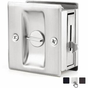 最好的口袋门锁选项:Prime-Line N 7239口袋门隐私锁