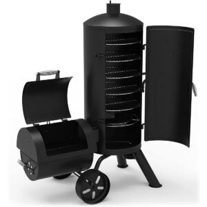 The Best Smoker Grill Combo Options: Dyna-Glo Signature Series DGSS1382VCS-D