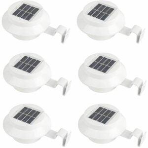 The Best Solar Gutter Lights Option: iSunMoon 6 Pack Gutter Solar Lights