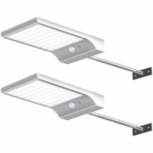 The Best Solar Gutter Lights Option: InnoGear 24 LED Solar Lights
