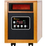 The Best Space Heater For Bedroom Options: Dr Infrared Heater Portable Space Heater