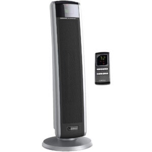 The Best Space Heater For Bedroom Options: Lasko 5586 Digital Ceramic Tower Heater with Remote