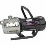 The Best Sprinkler Pump Option: WAYNE PLS100 1 HP Portable Stainless Steel