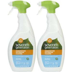 The Best Toilet Cleaner Options: Seventh Generation Disinfecting Bathroom Cleaner