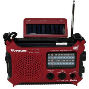 The Best Weather Radio Options: Kaito KA500RED 5-Way Powered Emergency
