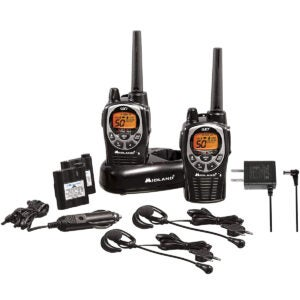 The Best Weather Radio Options: Midland 50 Channel Waterproof GMRS Two-Way Radio