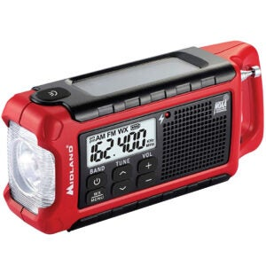 The Best Weather Radio Options: Midland - ER210, Emergency Compact Crank Weather
