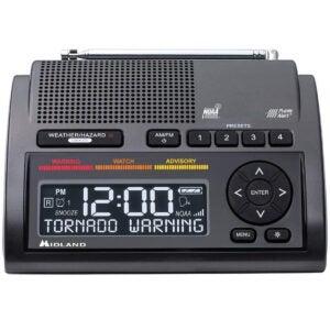 The Best Weather Radio Options: Midland - WR400, Deluxe NOAA Emergency Weather Alert Radio
