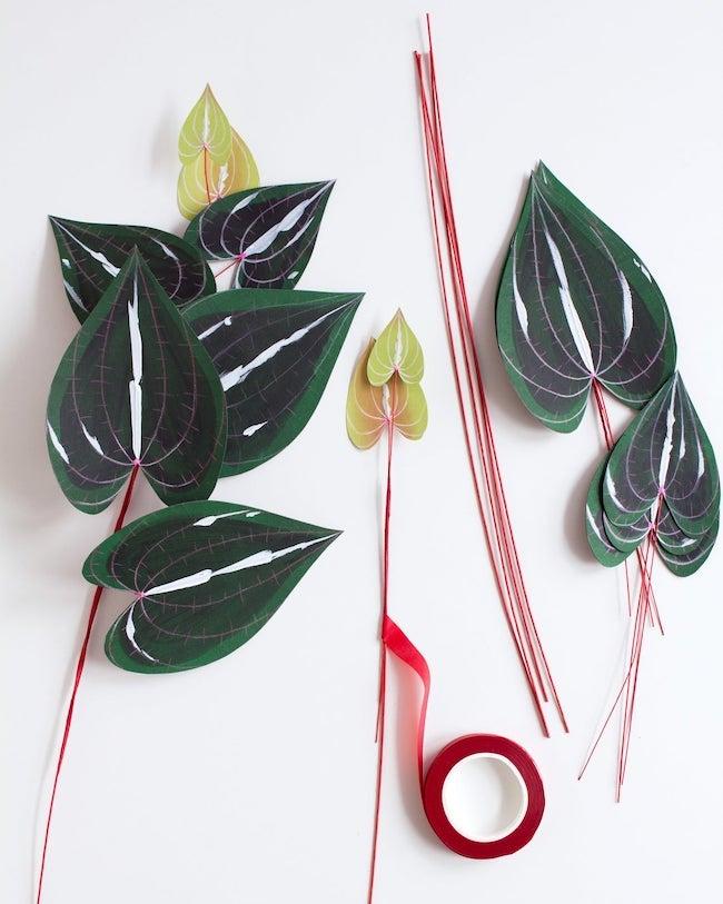 paper houseplant