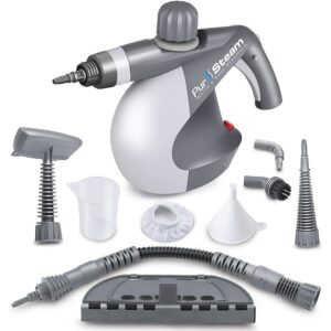 The Best Handheld Steam Cleaner Option: PurSteam World's Best Steamers Chemical-Free Cleaning