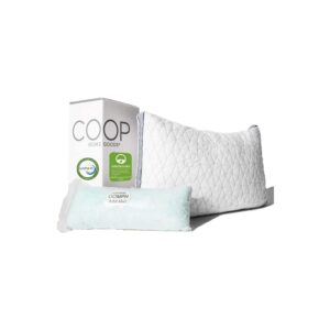 The Best King Size Pillows Option: Coop Home Goods - Eden Shredded Memory Foam Pillow