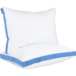 The Best King Size Pillows Option: Utopia Bedding Gusseted Pillow (2-Pack) Premium
