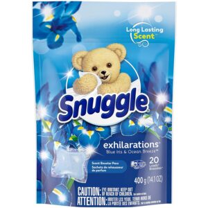 The Best Laundry Scent Booster Option: Snuggle Exhilarations In-Wash Laundry Scent Booster