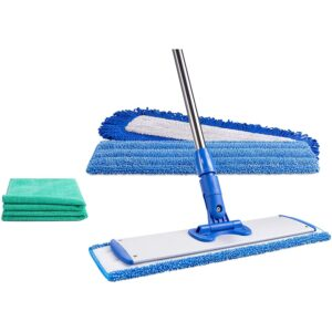 The Best Mop For Laminate Floors Option: Microfiber Wholesale 18 Professional Mop