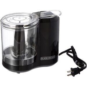 The Best Nut Chopper Option: BLACK+DECKER 3-Cup Electric Food Chopper