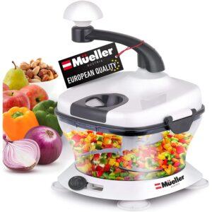 The Best Nut Chopper Option: Mueller Ultra Heavy Duty Chopper_Cutter